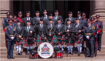 CKPS Pipe Band and Honour Guard - 2012 resize copy