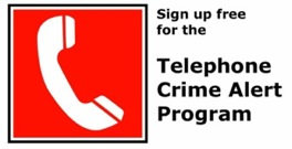 Telephone Crime Alert Program (Small)(1)
