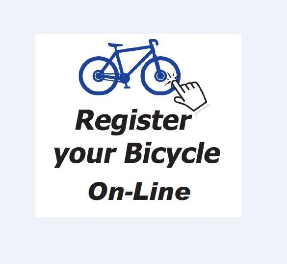 Register your Bicycle online poster