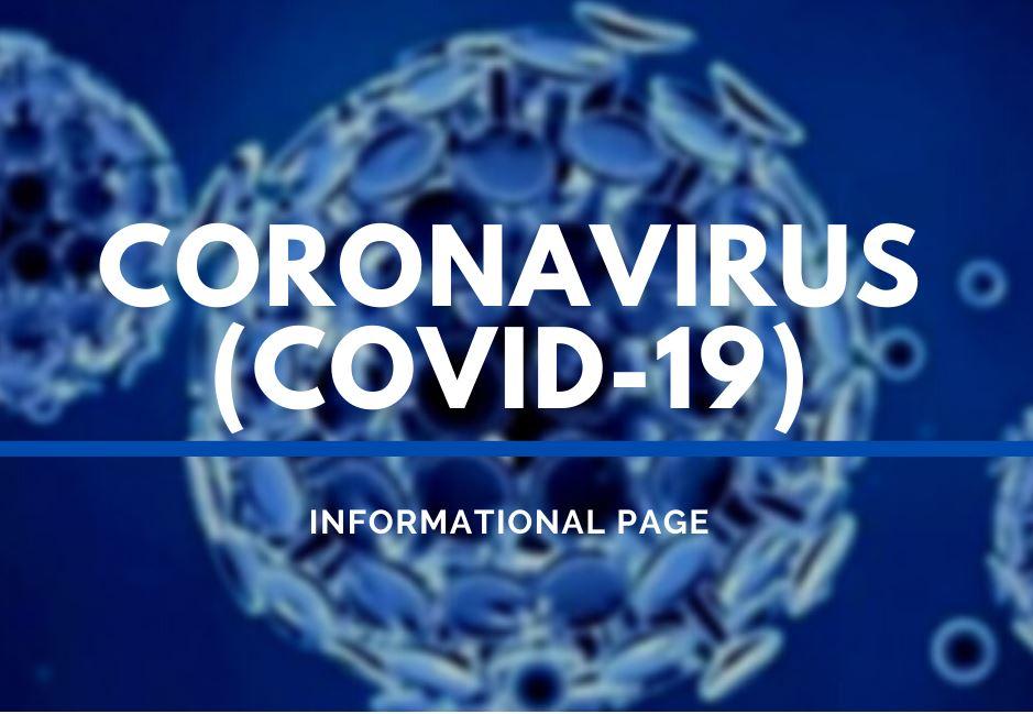 covid19 info page