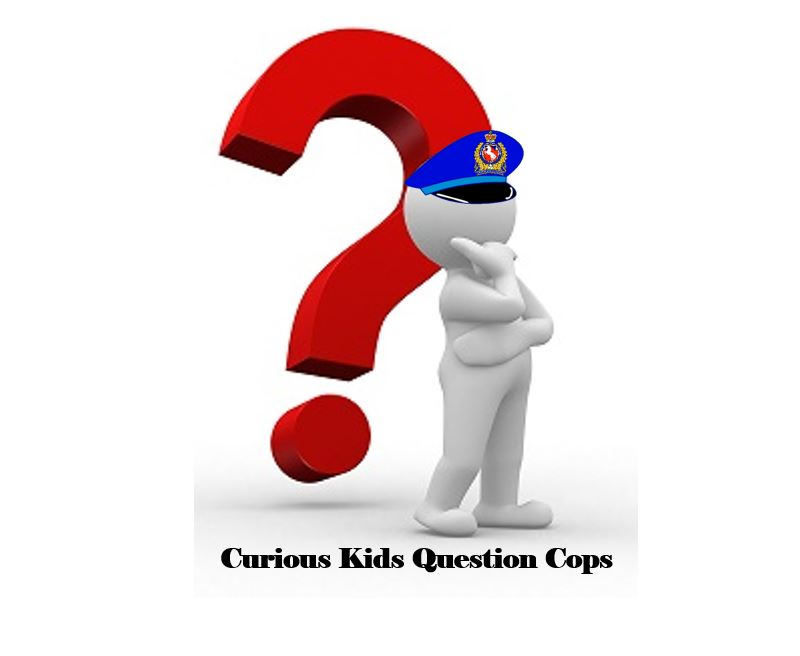 curious kids question cops